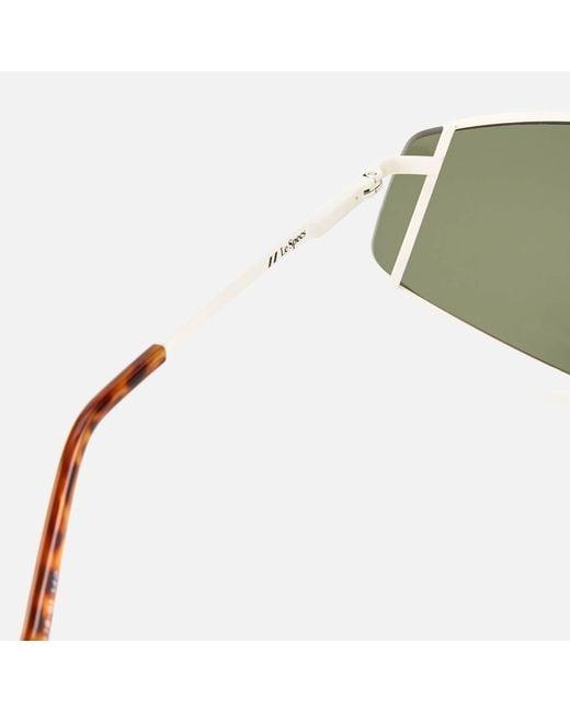 Le Specs Women's Green Bladestunner Sunglasses
