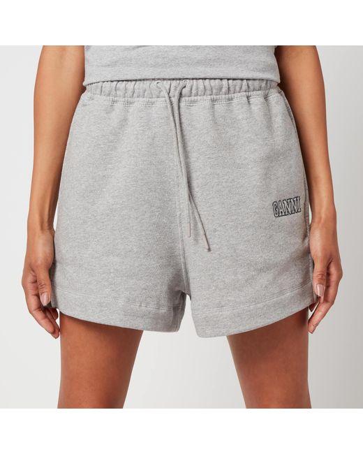 Ganni Gray Isoli Shorts