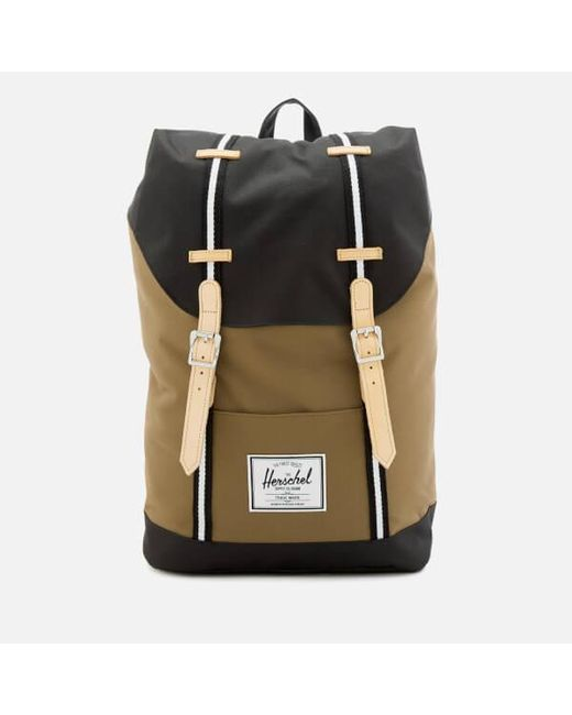 625384299e45 Lyst - Herschel Supply Co. Men s Retreat Backpack in Black for Men