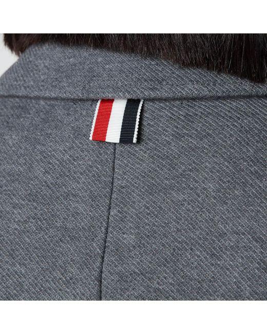 Thom Browne Gray Sport Coat