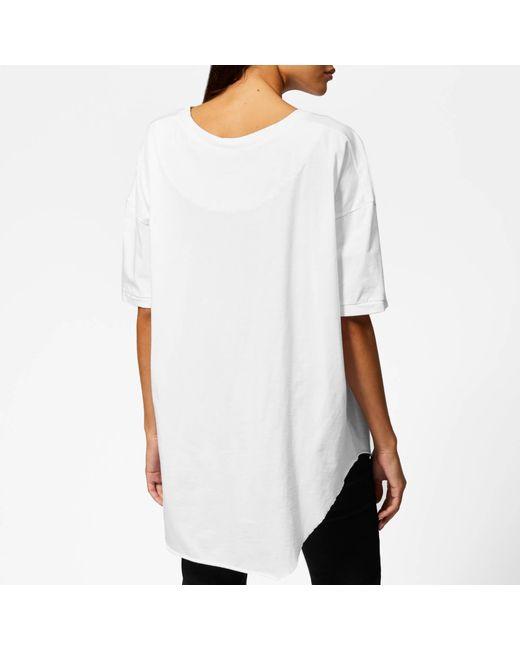 0bb323ab02da7b ... Vivienne Westwood - White Anglomania Baggy T-shirt - Lyst ...