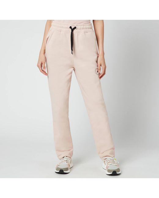 Adidas By Stella McCartney Pink Asmc Sweatpants