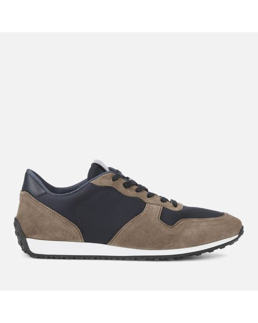 Tod's Brown Casual Low Top Trainers for men