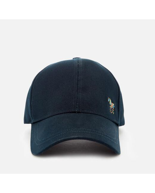 88643c3e5f8 Paul Smith - Blue Men s Zebra Cap for Men - Lyst ...