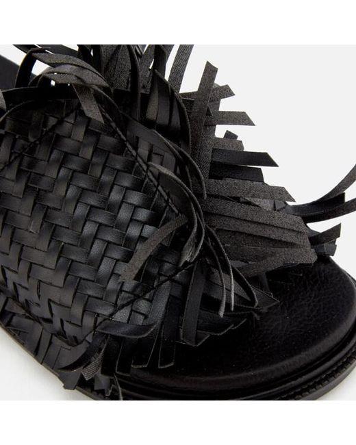 Super Specials MM6 MAISON MARGIELA Women's Tassel Slip On Sandals Cheap Sale Cost Online Sale Online rP8Mr8Xtw8