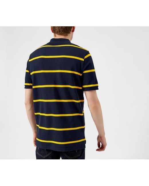 c92f08b5f ... where to buy lyst polo ralph lauren blue mens cross flags polo shirt  for men 5e157