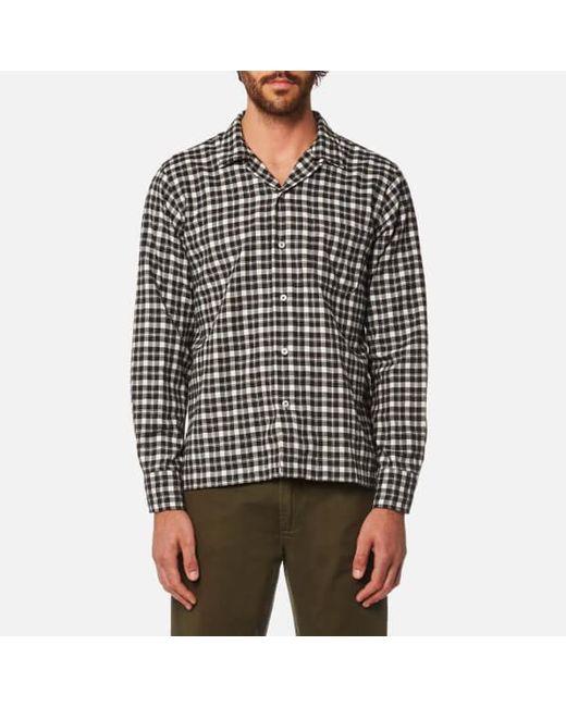 Universal Works | Brown Men's Garage Shirt for Men | Lyst