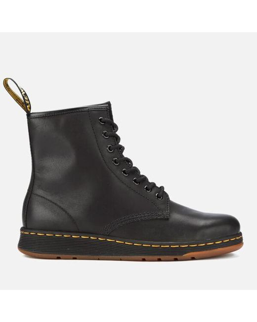 Dr. Martens NEWTON BOOT - Lace-up boots - black