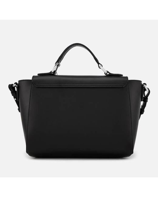 7b18509d989d ... Lyst Emporio Armani - Black Women s Top Handle Small Tote Bag ...
