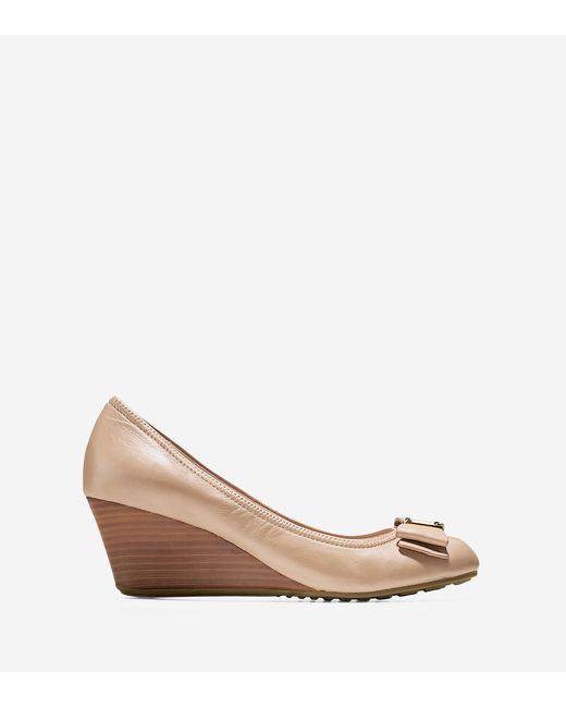 Cole Haan | Multicolor Tali Grand Bow Wedge (65mm) | Lyst