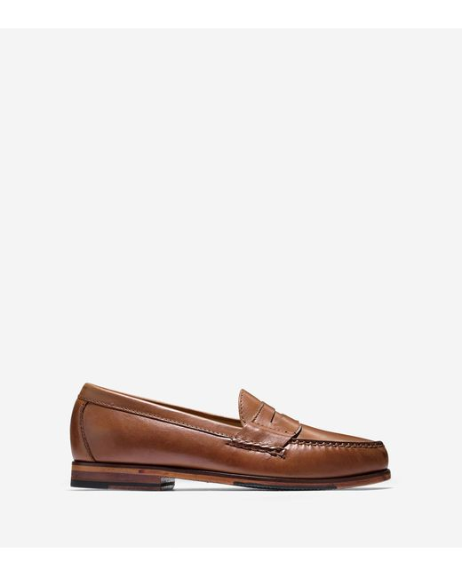 Cole Haan   Brown Men's Pinch Grand Penny Loafer for Men   Lyst