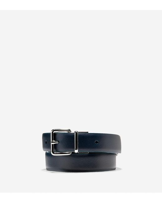 Cole Haan | Blue Reversible Feather Edge Belt for Men | Lyst