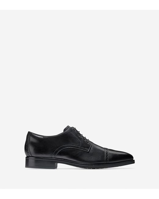 Cole Haan - Black Washington Grand Cap Toe Oxford for Men - Lyst