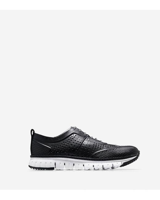 Cole Haan - Black Men's Zerøgrand Perforated Sneaker for Men - Lyst