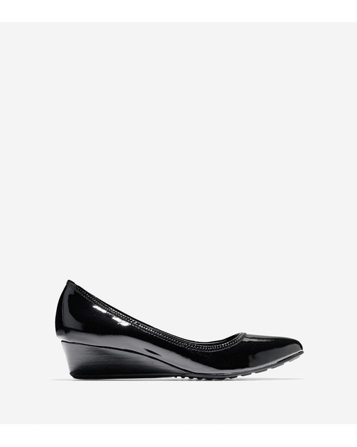 Cole Haan | Black Tali Luxe Wedge (40mm) | Lyst