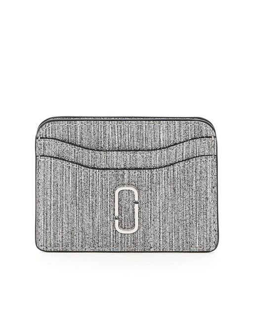 Marc Jacobs Metallic The Snapshot Glitter Card Case
