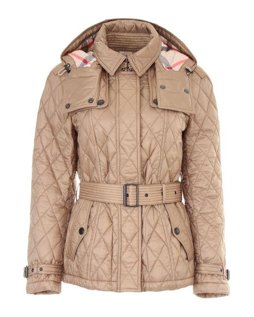 Burberry Natural Short Finsbridge Jacket