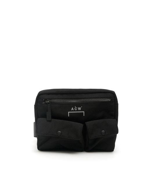 A_COLD_WALL* Black Abdomen Bag for men