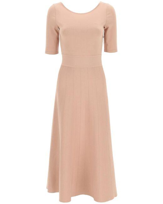 Antonino Valenti Pink Ellen Midi Dress