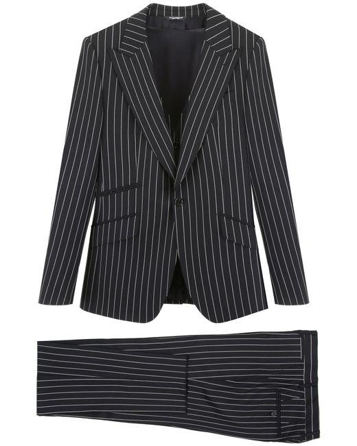 Dolce & Gabbana Multicolor Sicilia Three-piece Suit for men