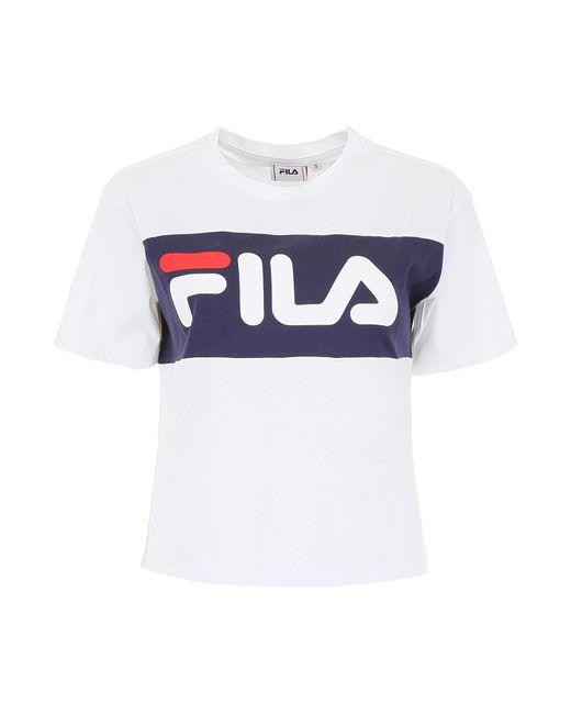 Fila Blue Allison Logo T-shirt