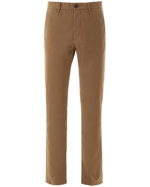 Z Zegna Brown Chino Pants for men
