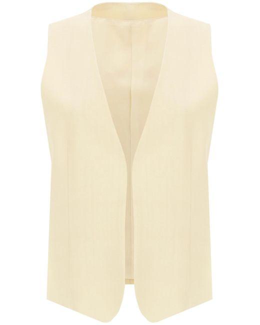 Totême  Natural Pine Buttonless Vest 36