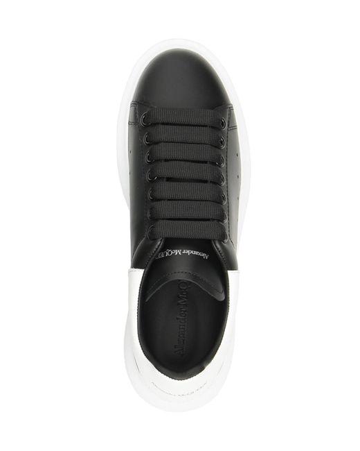 Alexander McQueen Black Oversize Sneakers