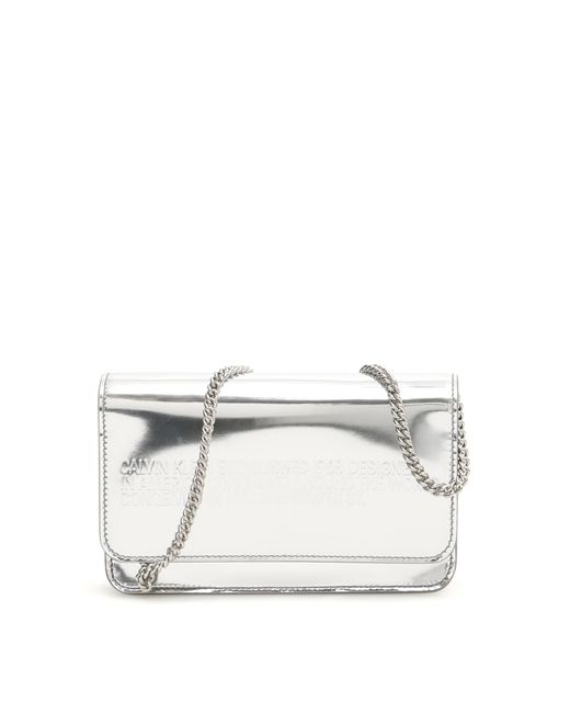 CALVIN KLEIN 205W39NYC Metallic Mini Crossbody Bag