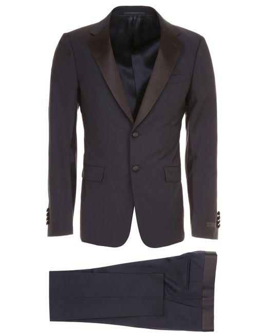 Prada Blue Tuxedo for men