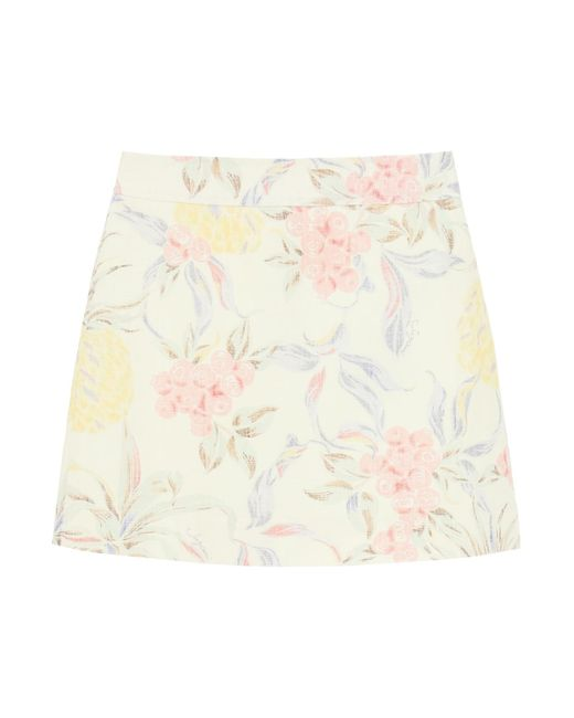 MINI GONNA STAMPA SPRING FRUITS di See By Chloé in Multicolor