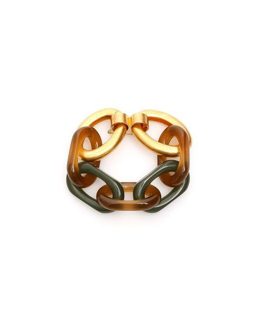 Marni Metallic Chain Bracelet Vertigo Line