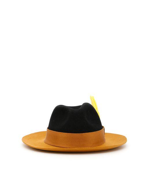 Ruslan Baginskiy Black Felt Hat