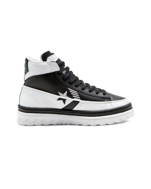 Converse White Rivals Pro Leather X2