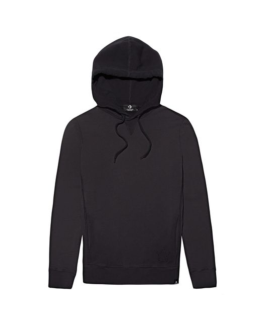 Hooded Concrete Smoked Sweatshirt di Converse in Black da Uomo