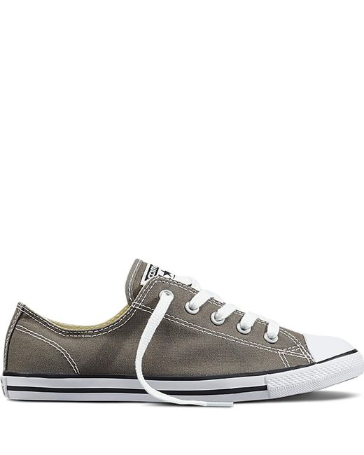 Converse - Gray Chuck Taylor All Star Dainty - Lyst