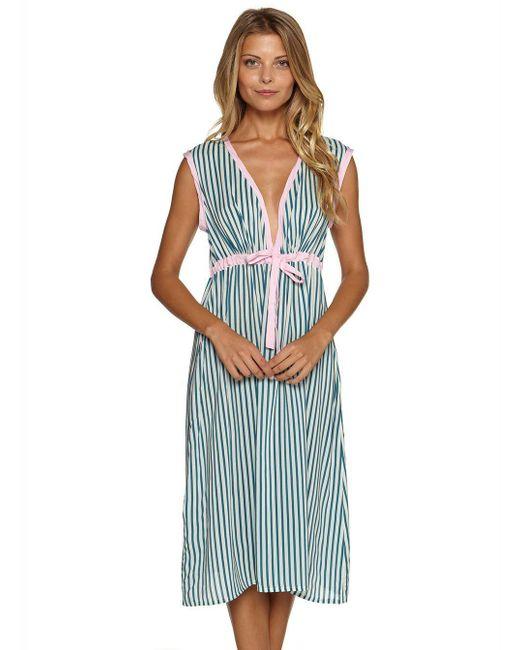 Cosabella - Blue Saville Night Dress - Lyst