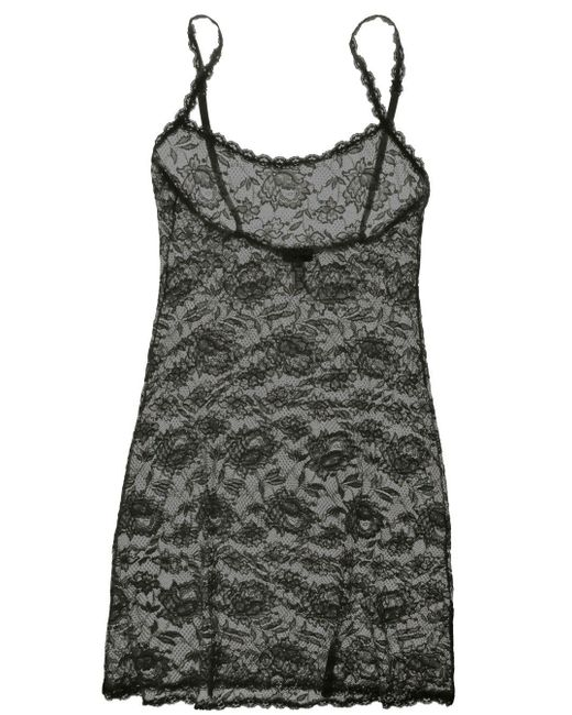 Cosabella - Gray Never Say Never Foxie™ Lace Chemise - Lyst