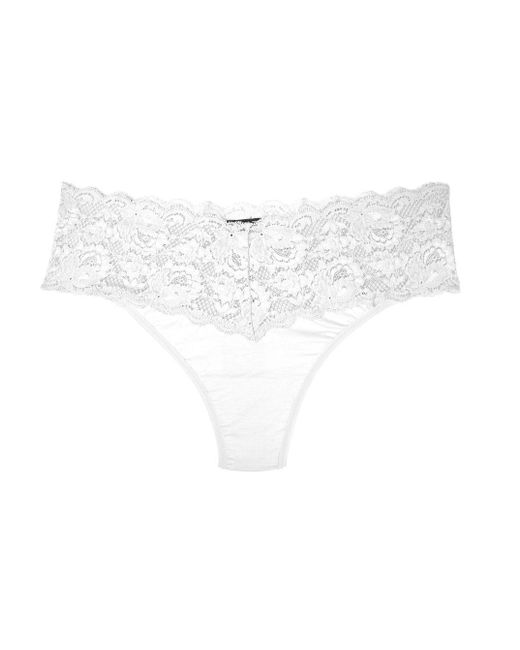 Cosabella | White Never Say Never Lovelietm Extended Thong | Lyst