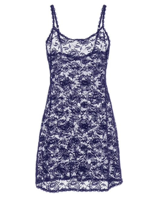 Cosabella   Blue Never Say Never Foxie™ Lace Chemise   Lyst