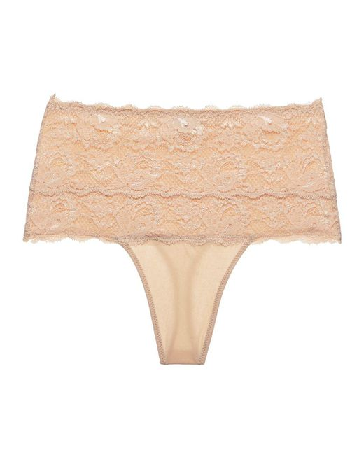 Cosabella   Pink Never Say Nevertm Sexy Shapewear Thong   Lyst