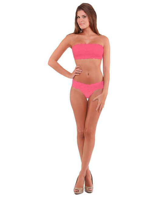 Cosabella | Pink Never Say Never Flirtie™ Bandeau Bra | Lyst