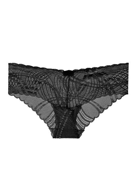 Cosabella - Black Minoa Lowrider Hotpants - Lyst