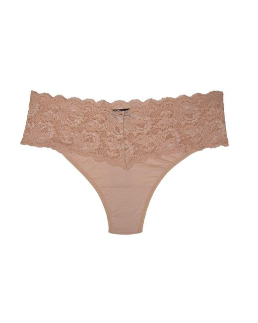 Cosabella | Pink Never Say Never Lovelie™ Extended Thong | Lyst