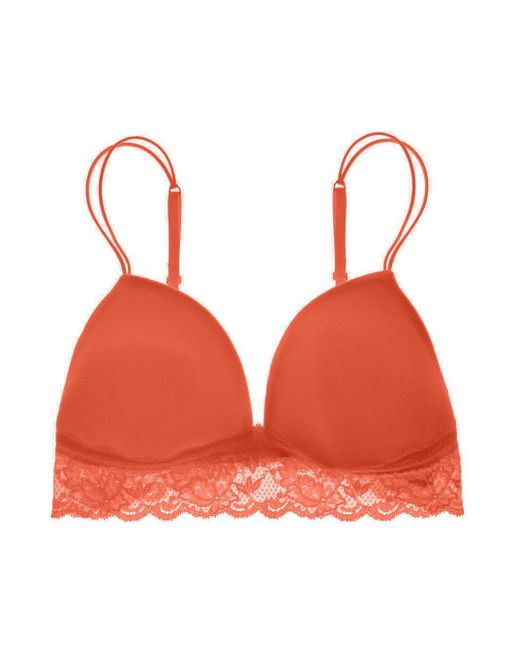 Cosabella | Orange Never Say Never/soire Padded Bralette | Lyst