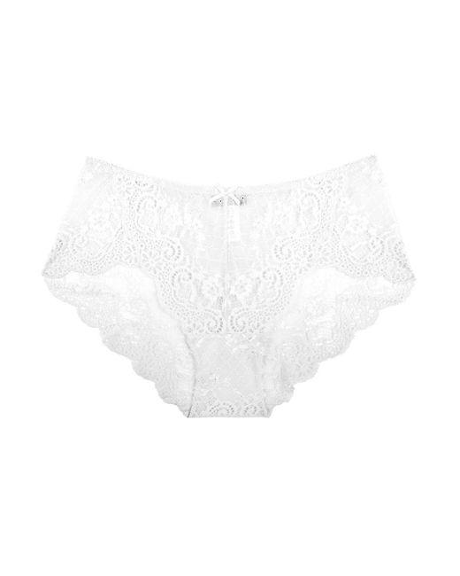 Cosabella | White Thea Hi Cut Bikini | Lyst