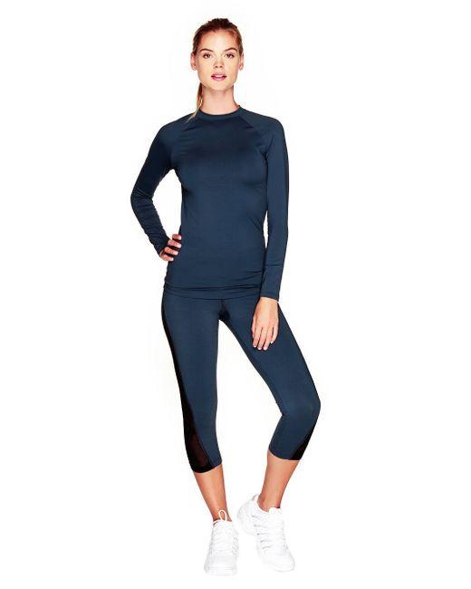 Cosabella | Blue Triathlon Long Sleeve Top | Lyst