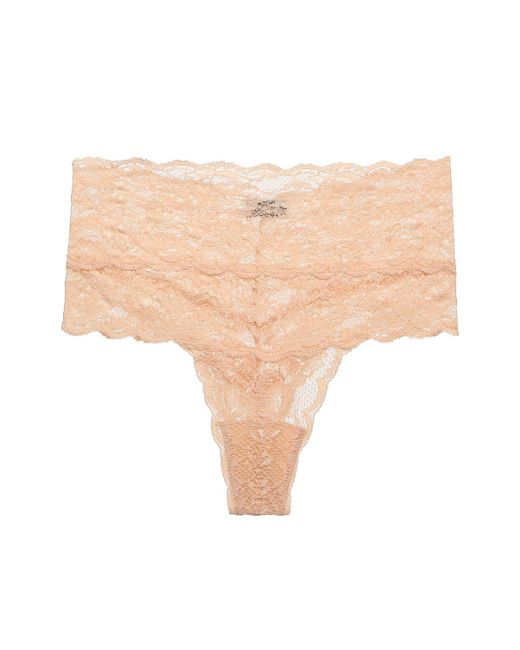 Cosabella | Pink Never Say Never High Rise Thong | Lyst