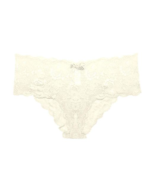 Cosabella | White Never Say Never Hottietm Lace Lowrider Hotpant | Lyst
