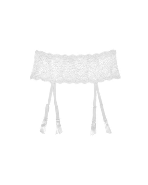Cosabella - White Never Say Never Garter Belt - Lyst